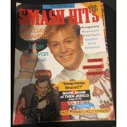 Smash Hits Magazine - 1989 08/02/89 (Jason Donovan Cover)
