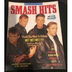 Smash Hits Magazine - 1988 09/03/88 (Wet Wet Wet Cover)