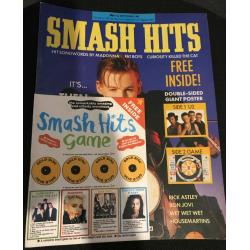 Smash Hits Magazine - 1987 09/09/87 (Then Jerico Cover)