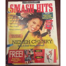 Smash Hits Magazine - 1989 11/01/89 (Neneh Cherry)