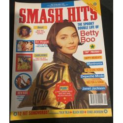 Smash Hits Magazine - 1990 13/06/90 (Betty Boo Cover)
