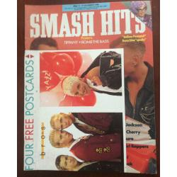 Smash Hits Magazine - 1988 14/12/88 (Bros Cover)