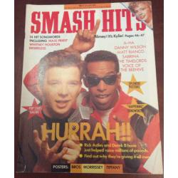 Smash Hits Magazine - 1988 15/06/88 (Rick Astley Cover)