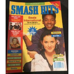 Smash Hits Magazine - 1990 16/05/90 (Beats International Cover)