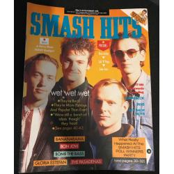 Smash Hits Magazine - 1988 16/11/88 (Wet Wet Wet Cover)