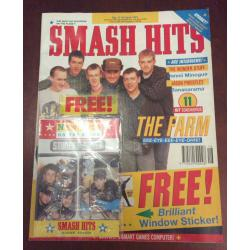 Smash Hits Magazine - 1991 17/04/91 (The Farm)