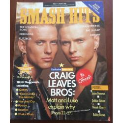 Smash Hits Magazine - 1989 17/05/89 (Bros cover)