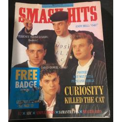 Smash Hits Magazine - 1987 17/06/87 (Curiosity Killed the Cat)