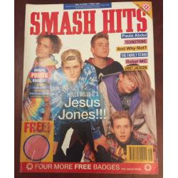 Smash Hits Magazine - 1990 18/04/90 (Jesus Jones Cover)