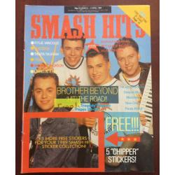 Smash Hits Magazine - 1989 22/03/89 (Brother Beyond Cover)