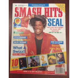 Smash Hits Magazine - 1991 23/01/91 (Seal Cover)