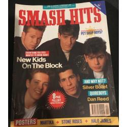 Smash Hits Magazine - 1990 24/01/90 (New Kids on the Block Cover)