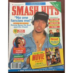 Smash Hits Magazine - 1991 26/06/91 (Donnie NKOTB Cover)