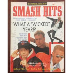 Smash Hits Magazine - 1988 28/12/88