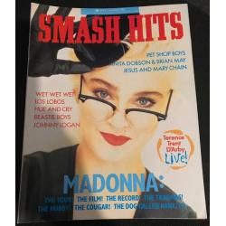 Smash Hits Magazine - 1987 29/07/87 (Madonna Cover)