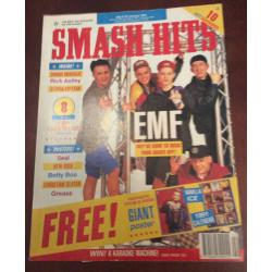 Smash Hits Magazine - 1991 09/01/91 (EMF Cover)