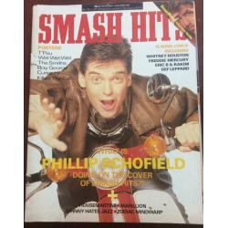 Smash Hits Magazine - 1987 18/11/87 (Phillip Schofield Cover)