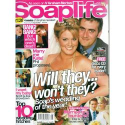 Soaplife Magazine - 2003 11/08/03