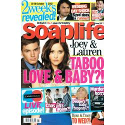 Soaplife Magazine - 2012 13/10/12