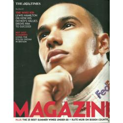 The Times Magazine 2007 16/06/07 Lewis Hamilton