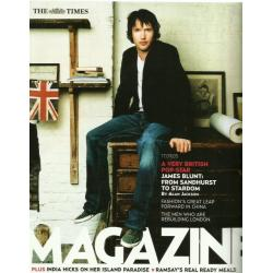 The Times Magazine 2005 17/09/05 James Blunt