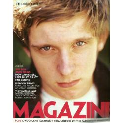 The Times Magazine 2005 23/07/05 Jamie Bell