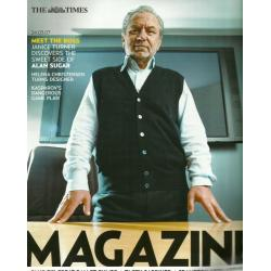 The Times Magazine 2007 24/03/07 Alan Sugar
