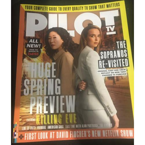 Pilot TV - Issue 2 - Jodie Comer Sandra Oh Killing Eve