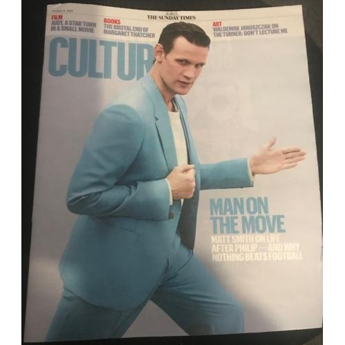 Culture Magazine - 06/10/19 (Matt Smith)