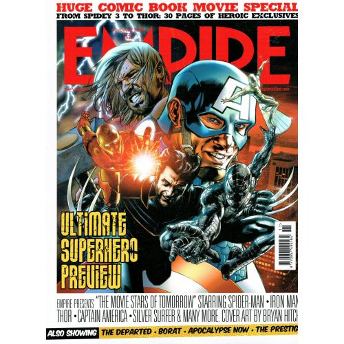Empire Magazine 209 - 2006 (Ultimate Superhero Cover)
