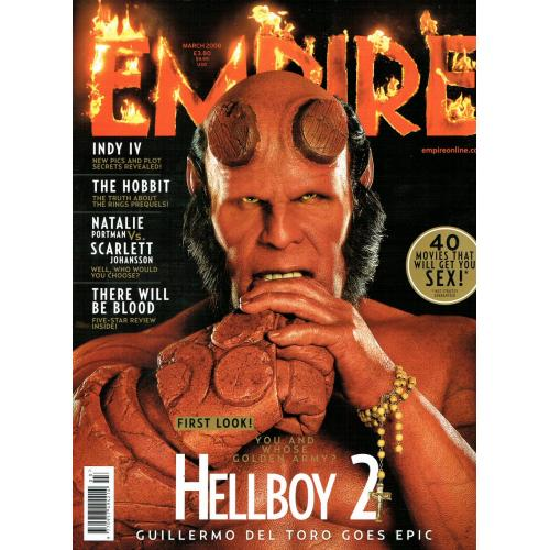 Empire Magazine 225 - 2008 (Hellboy 2 Cover)
