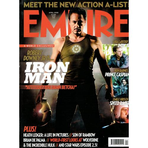 Empire Magazine 226 - 2008 (Heath Ledger Cover)
