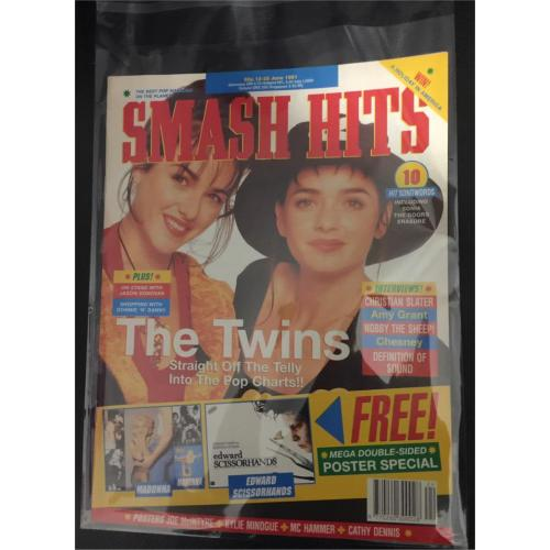 Smash Hits Magazine - 1991 12/06/91 (Gayle & Gillian Blakeney)