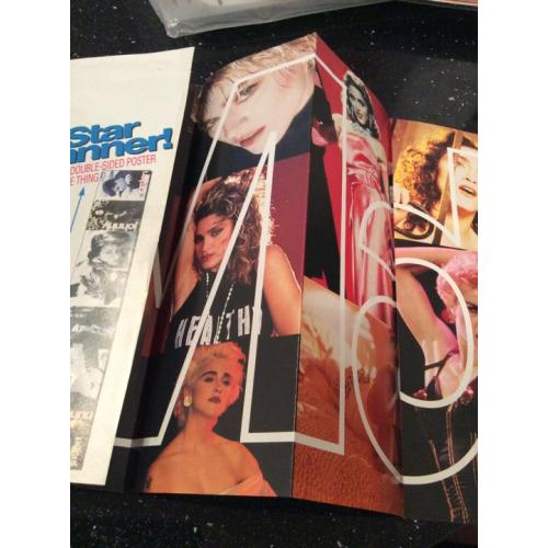 Madonna Star Banner Double Sided Smash Hits